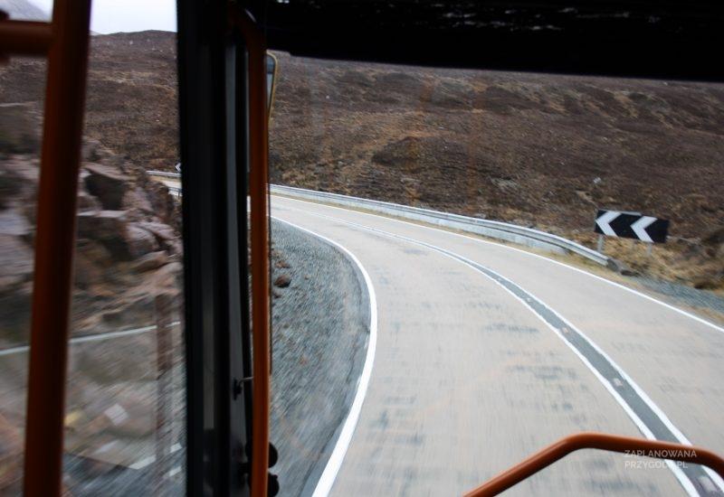 Szkocja – Autobusem po wyspie Skye
