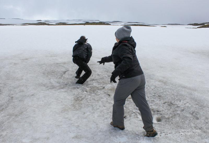 Przełęcz Oxi – śnieg