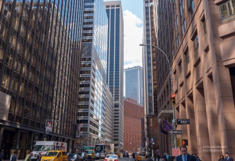 USA – Nowy Jork -Wall Street