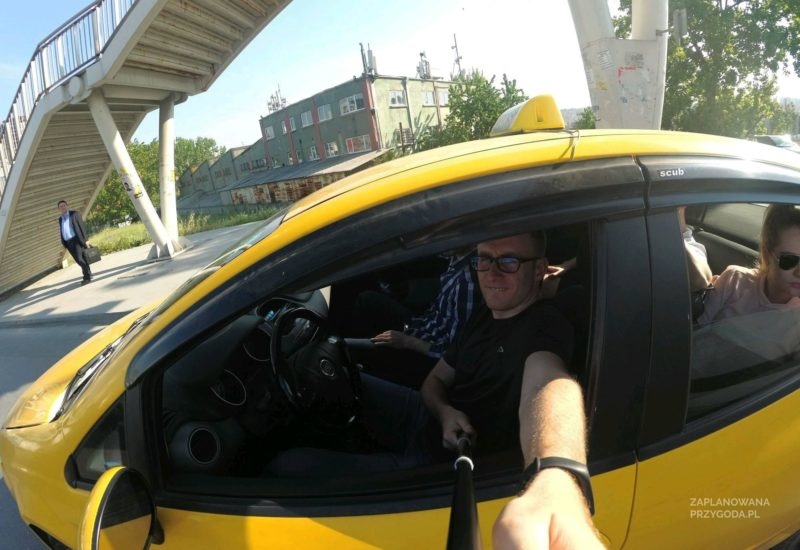 Jarek w Taxi